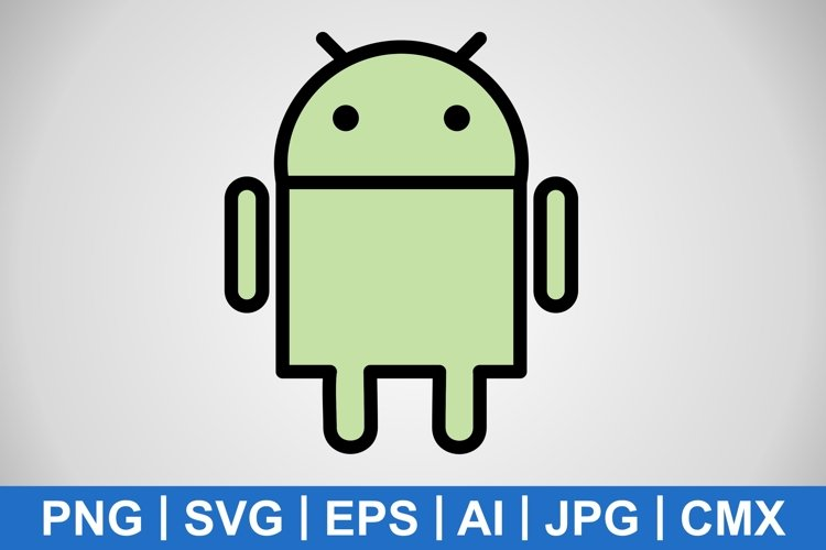 Vector Android Icon example image 1