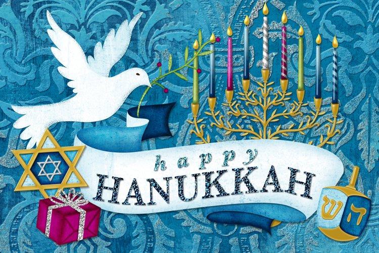 Happy Hanukkah Digital Scrapbooking Collection