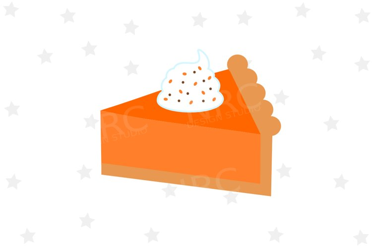 Pumpkin Pie Slice SVG File