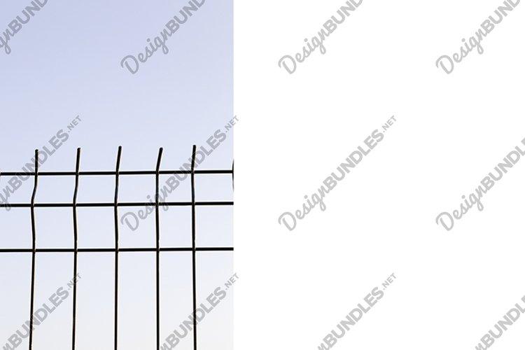 metal grate, sky example image 1
