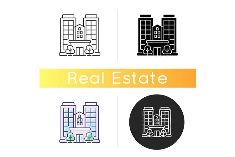 Condominium icon example image 1