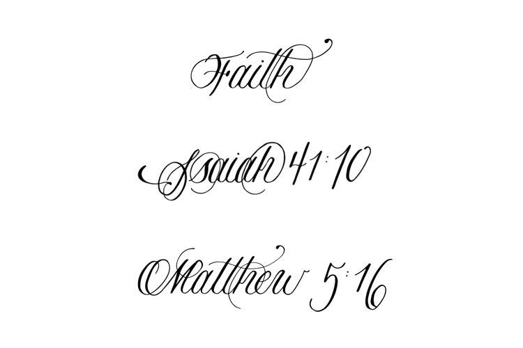Bible Verse Vectors, Faith