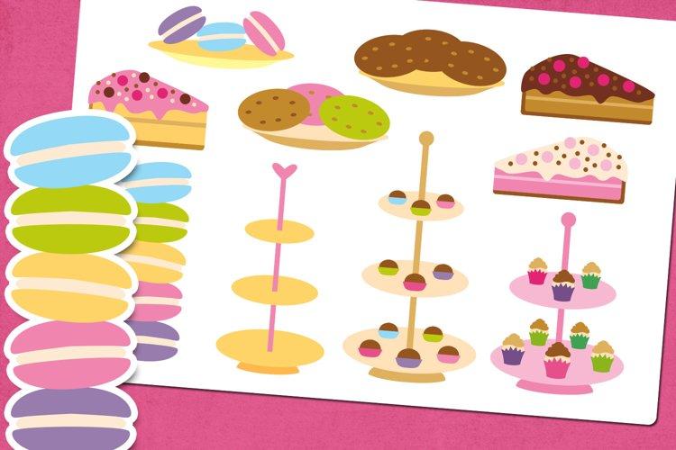 Desserts Food Illustrations Clip Art