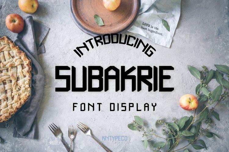 Subakrie example image 1