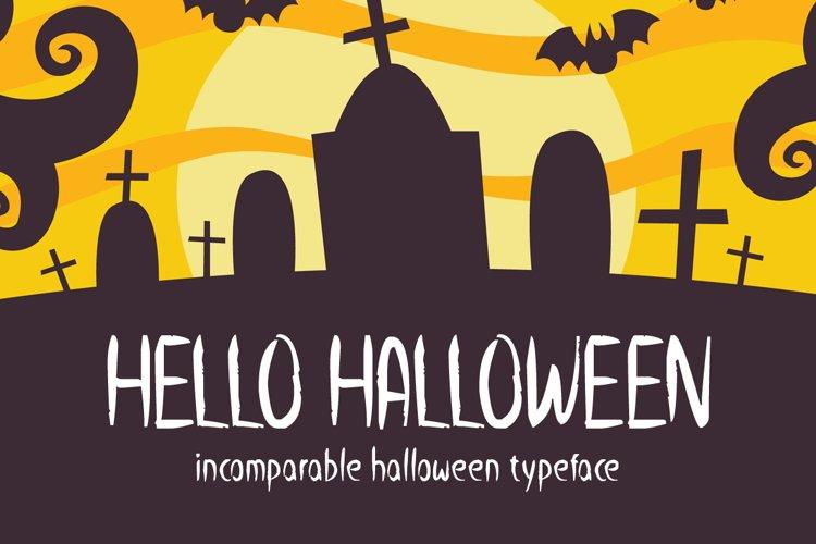 Hello Halloween example image 1