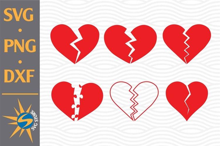 Broken Heart Svg Png Dxf Digital Files Include 767461 Cut Files Design Bundles