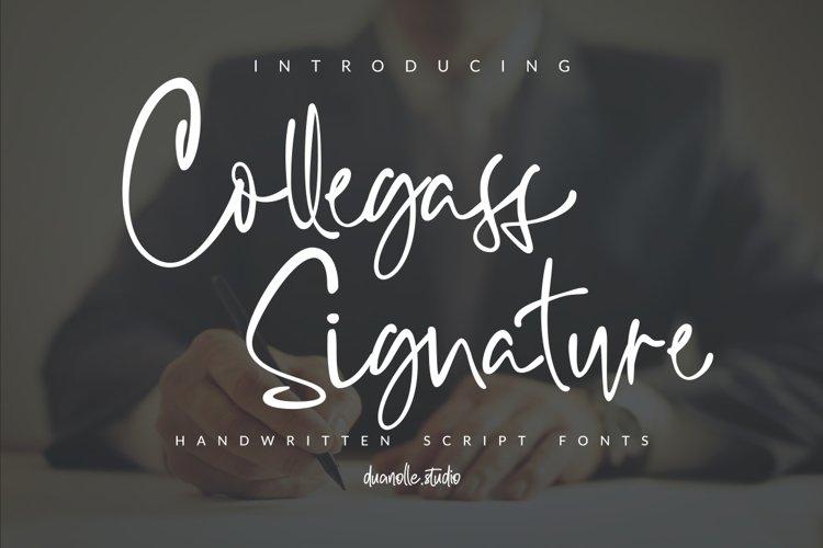 Collegass Signature example image 1