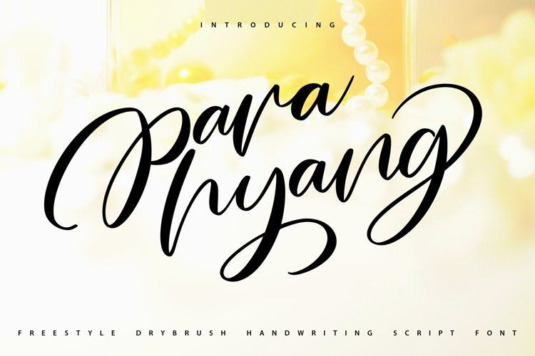 Parahyang | Freestyle Handwriting Scipt Font example image 1
