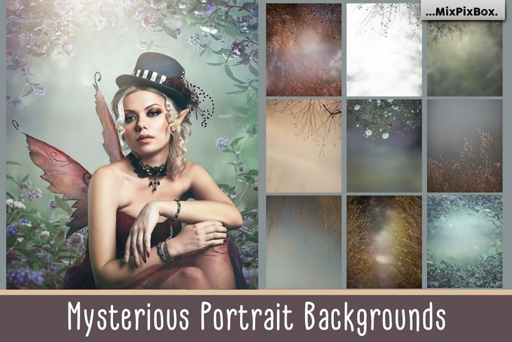 Mysterious Portrait Backgrounds example image 1