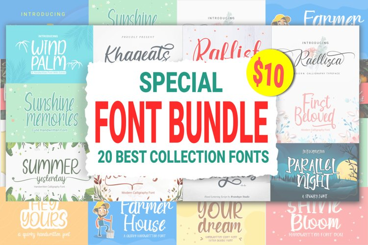 Special Font Bundle example image 1