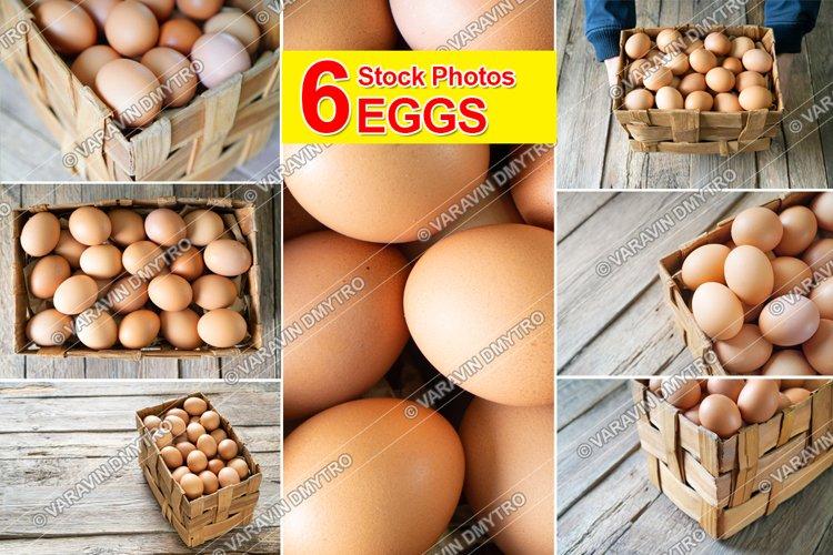 6 Photos Chicken Eggs