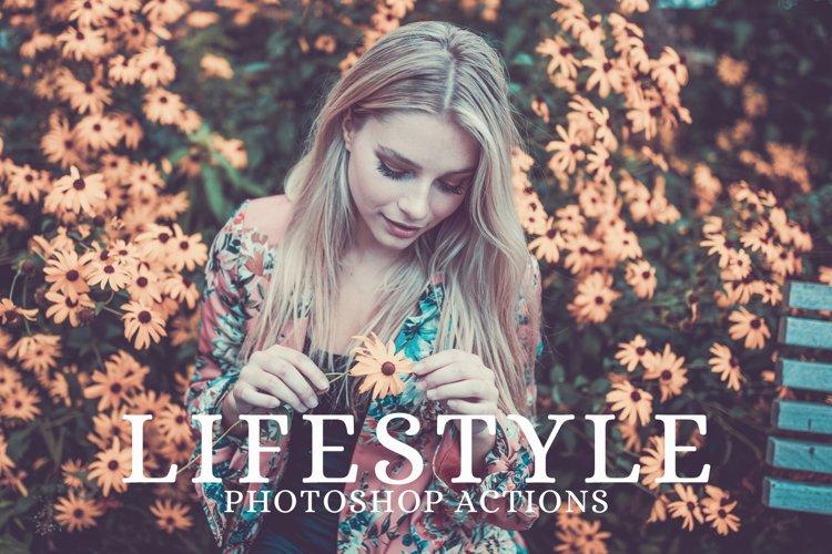 25 Lifestyle Photoshop Actions example image 1