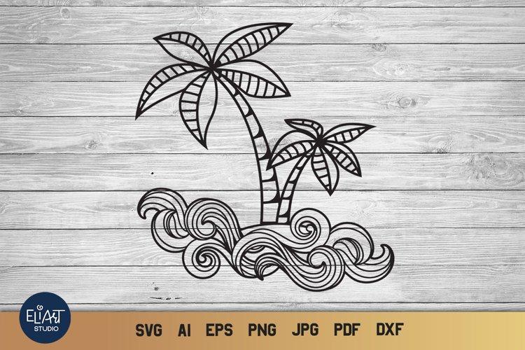 Palm Tree SVG | Summer SVG | Tropical SVG