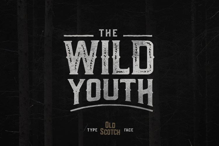 Old Scotch Typeface example image 1
