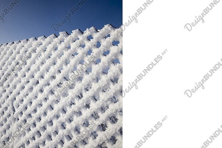 mesh netting and frost example image 1