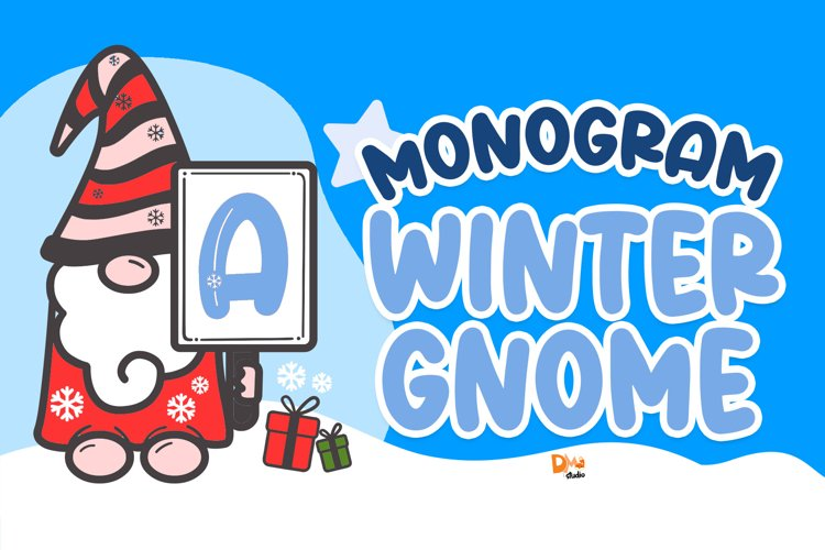 Monogram Winter Gnome example image 1