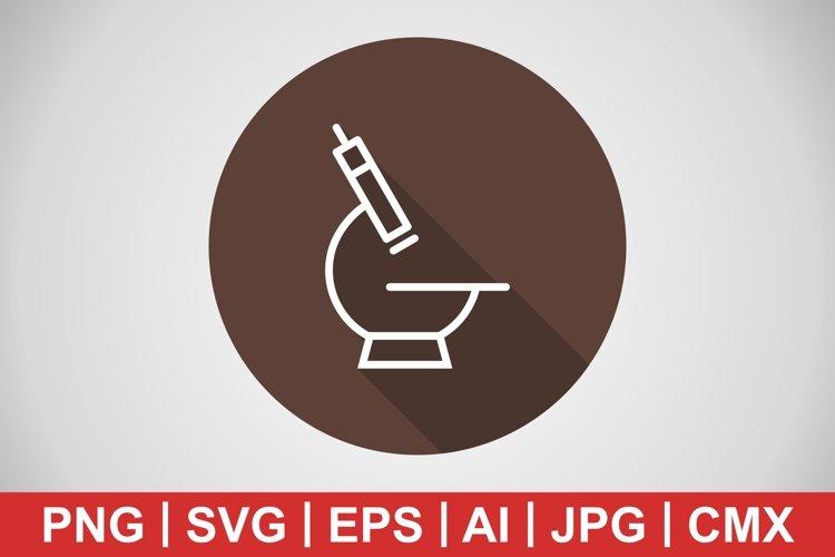 Vector Microscope Icon example image 1