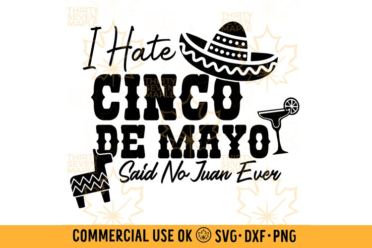 I Hate Cinco de Mayo Said No Juan Ever
