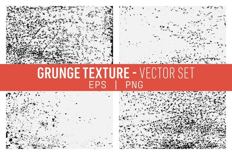 Grunge Textures Vector Pack example image 1
