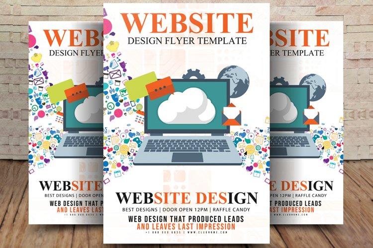 Web Design Flyer example image 1