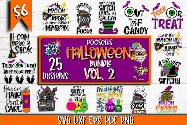 Roosells Halloween SVG Bundle Vol. 2