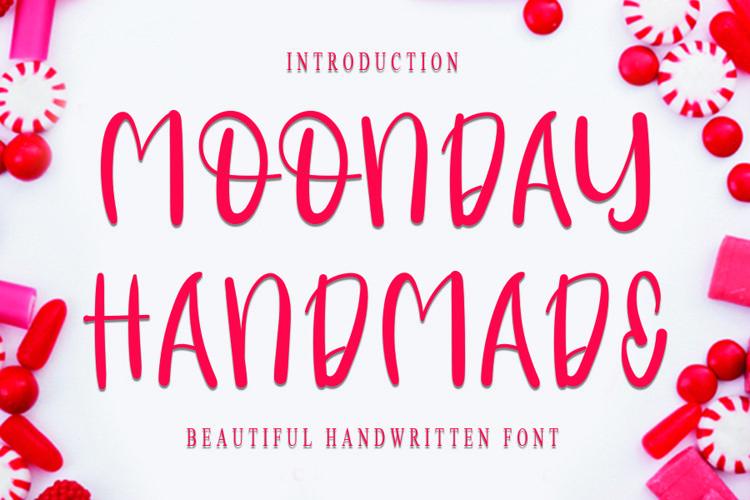 Monday Handmade - Cheerful Handwritten Font example image 1