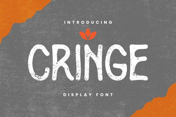 Web Font Cringe Font example image 1