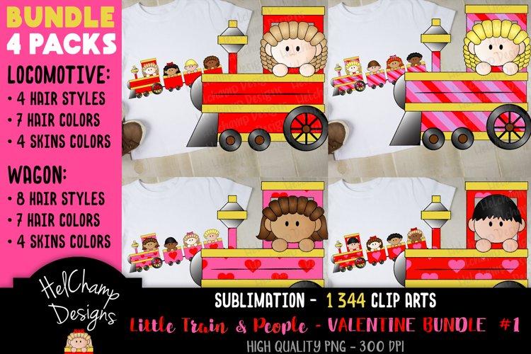 Little Trains collection - Valentine - BT002