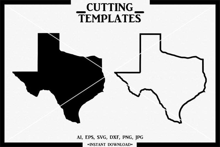 Texas SVG, Texas State, Silhouette, Cricut, Cut File, SVG