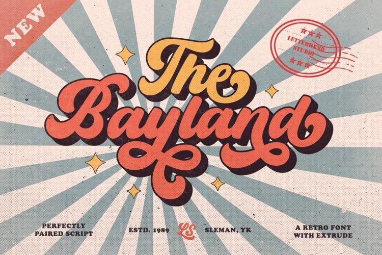 The Bayland - Retro Font example image 1