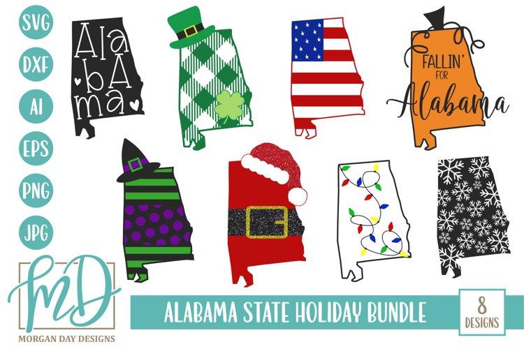 Download Alabama Christmas State Alabama Holiday Bundle Svg 332425 Cut Files Design Bundles