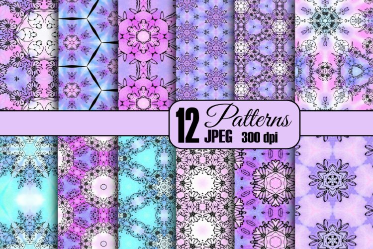 12 Spring Patterns example image 1