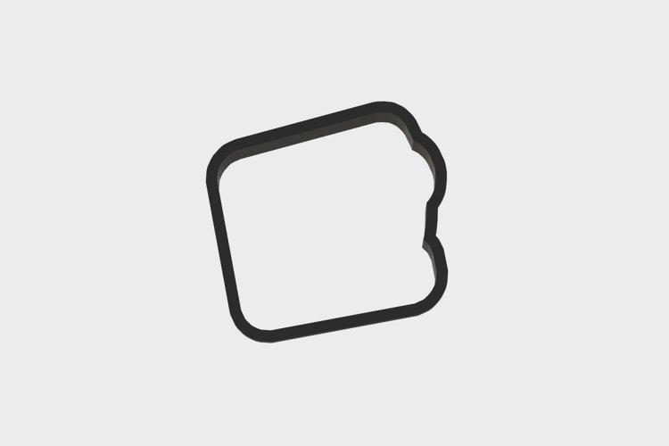 Tool Set TapeMeasure Cookie Cutter 3d .STL File   3inch