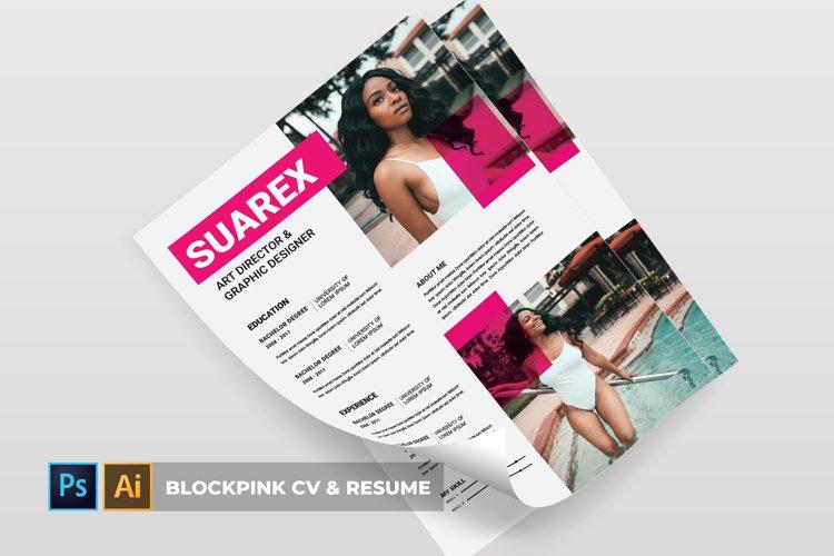 Blockpink | CV & Resume example image 1