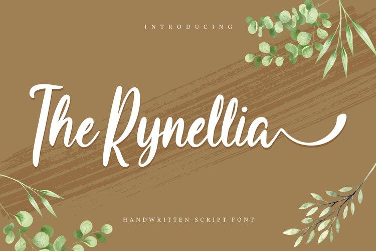 The Rynellia   Handwritten Script Font example image 1