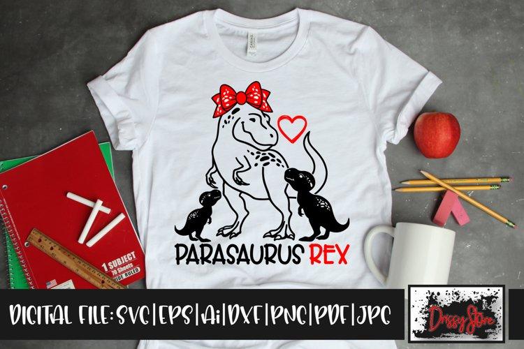 Parasaurus Rex SVG DXF Ai EPS PDF PNG JPG example image 1
