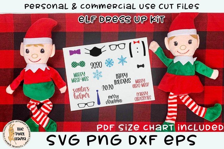 Elf Dress Up Kit SVG