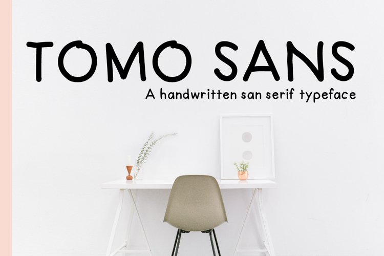 TomoSans Sans Serif Typeface example image 1