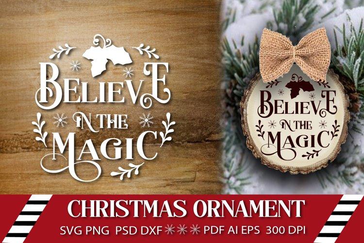 Christmas ornament SVG Christmas SVG Round Christmas Design