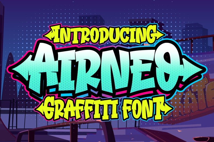 Airneo Graffiti Font example image 1