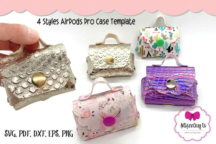 4 Styles No Sew AirPods Pro Case AirPods Pro Bag Case