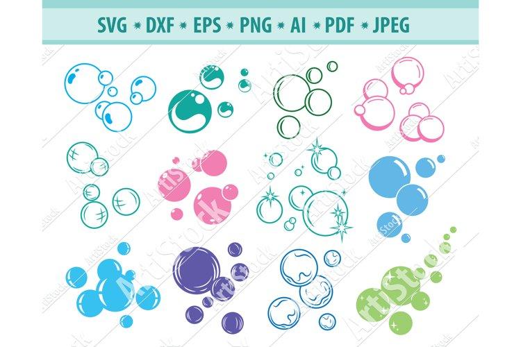 Bubbles Svg, Soap Bubbles Svg, Blowing Bubbles Png, Eps, Dxf