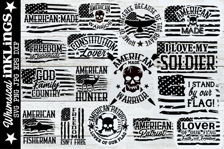 All American SVG Bundle
