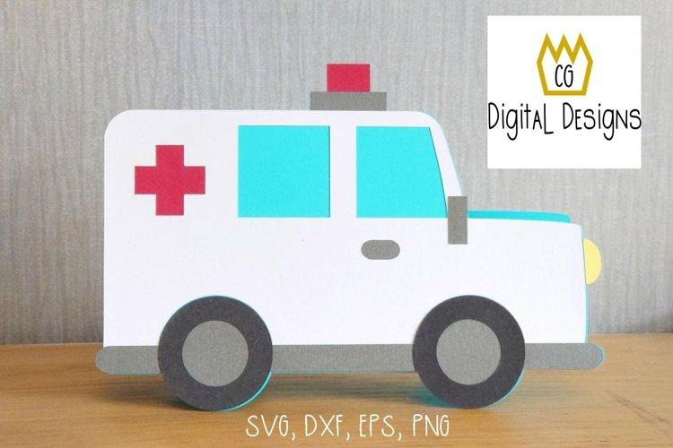 Ambulance Card - SVG