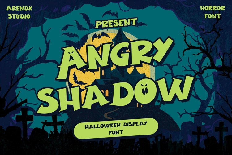 Angry Shadow - Halloween Display example image 1