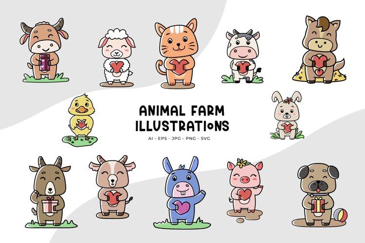 Animal Farm Illustrations