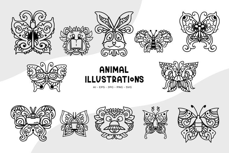 Animal Illustrations example image 1