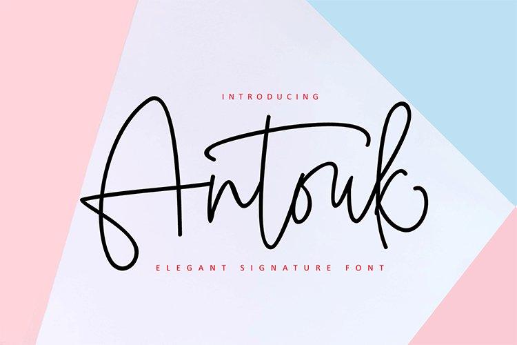 Antouk Signature Duo example image 1