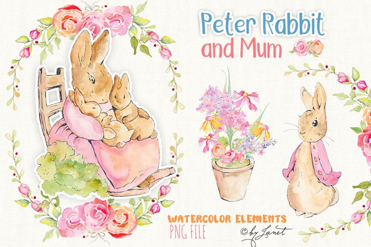 Peter Rabbit and Mum