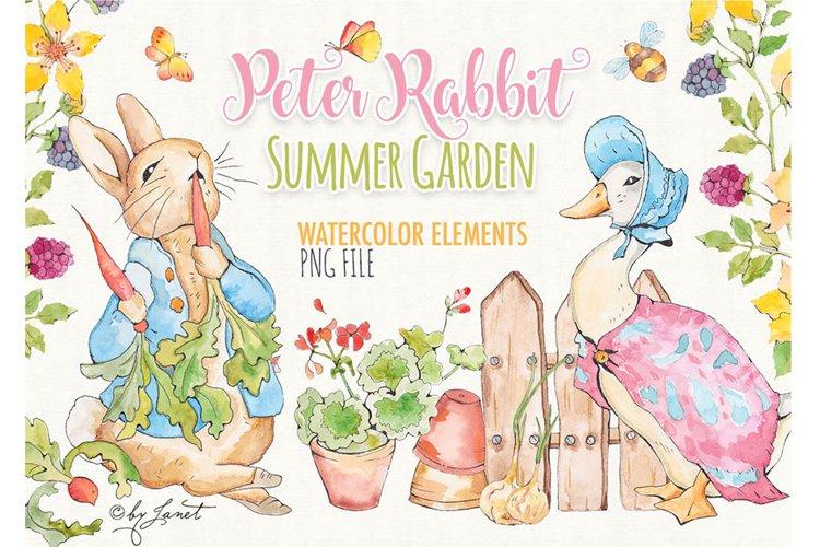 Peter Rabbit - Summer Garden